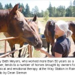Mary Beth in the Nisqually News